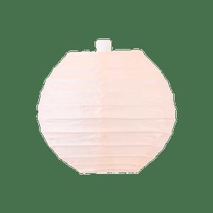 Boule papier 10cm Saumon