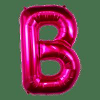 Ballon Lettre B Fuchsia 90 cm