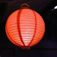 Lampion Led Orange 30 cm