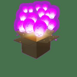 Balloon Rose x100