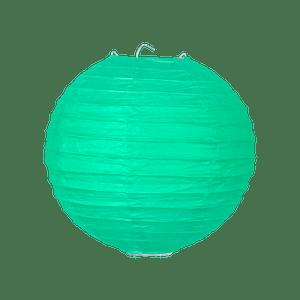Boule papier 20cm Vert d'eau