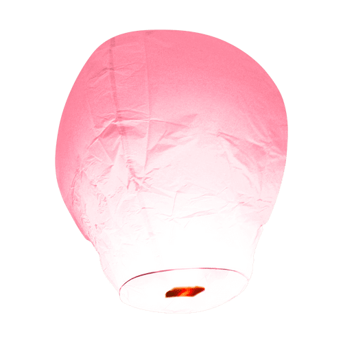 Balloon Rose pâle