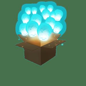 Balloon Turquoise x100
