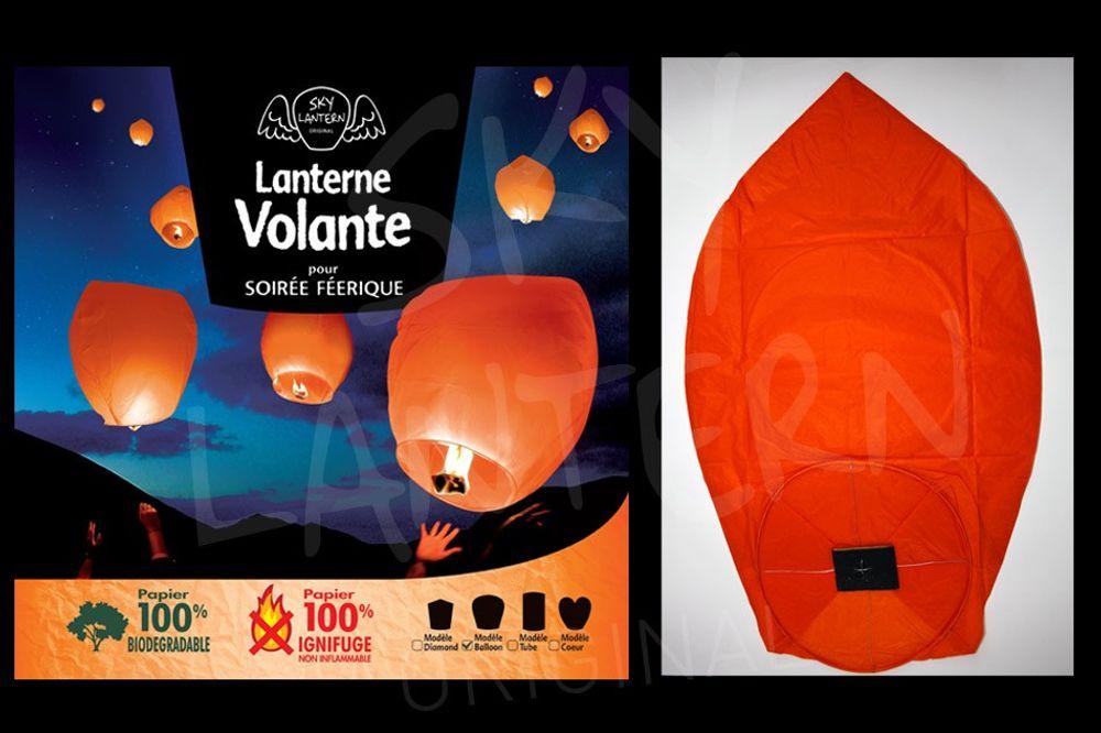 Balloon Orange x100