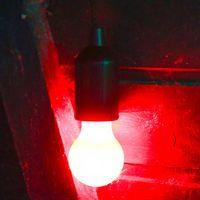 Suspension Ampoule Clic Clac Rouge