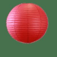 Décoration Pour Mariage & Fête Boule Papier 50Cm Rouge (Lot De 3 Pièces)
