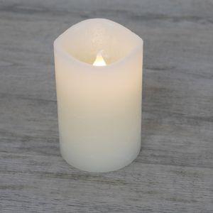 Bougie LED Rustique Ivoire