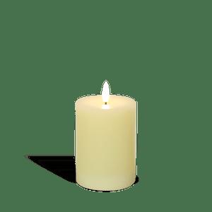Bougie Led Ivoire Flamme Réaliste 10 cm