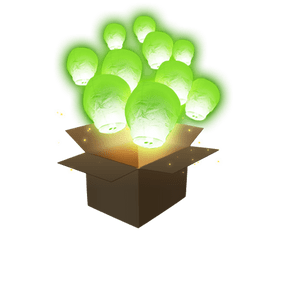 Balloon Vert x20