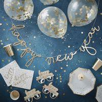 Kit Deco Carton Happy New Year Or x62