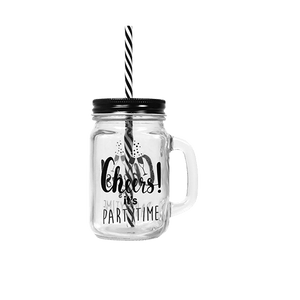 Mason Jar Noir Cheers