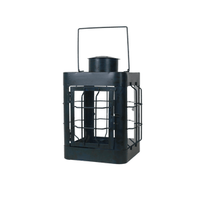 Lanterne en Métal Noir 24cm
