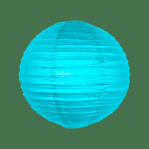 Boule papier 30 cm Turquoise